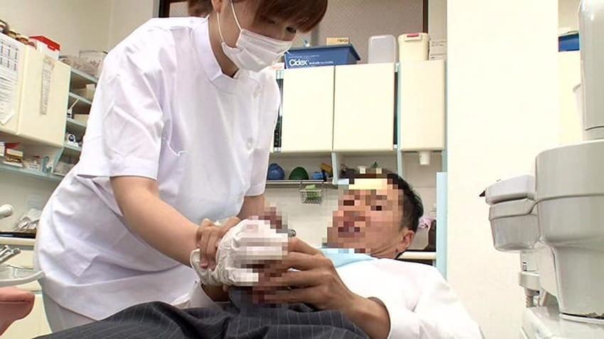 【歯科衛生士エロ画像】歯科衛生士の巨乳があたったりパンチラに興奮して診察台で乳揉みしちゃう歯科衛生士のエロ画像集!ww【80枚】 32