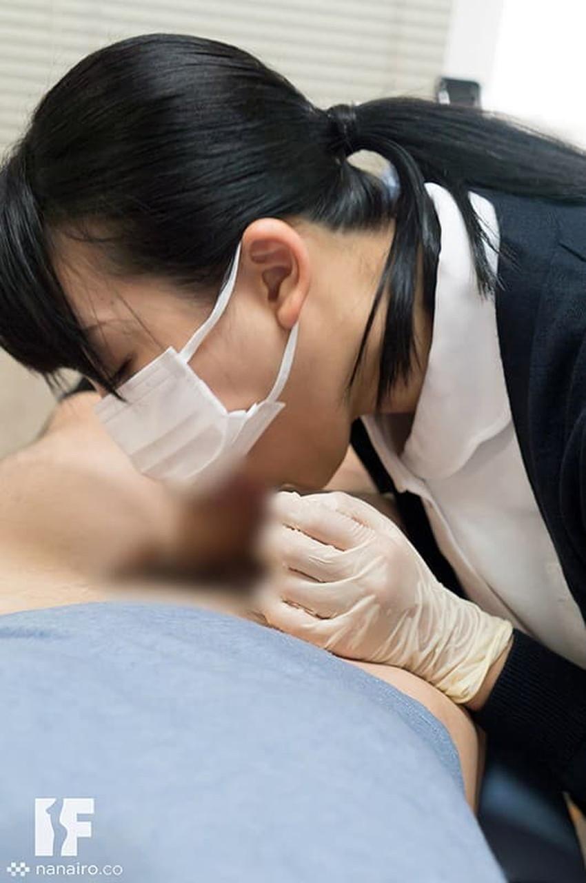 【歯科衛生士エロ画像】歯科衛生士の巨乳があたったりパンチラに興奮して診察台で乳揉みしちゃう歯科衛生士のエロ画像集!ww【80枚】 63