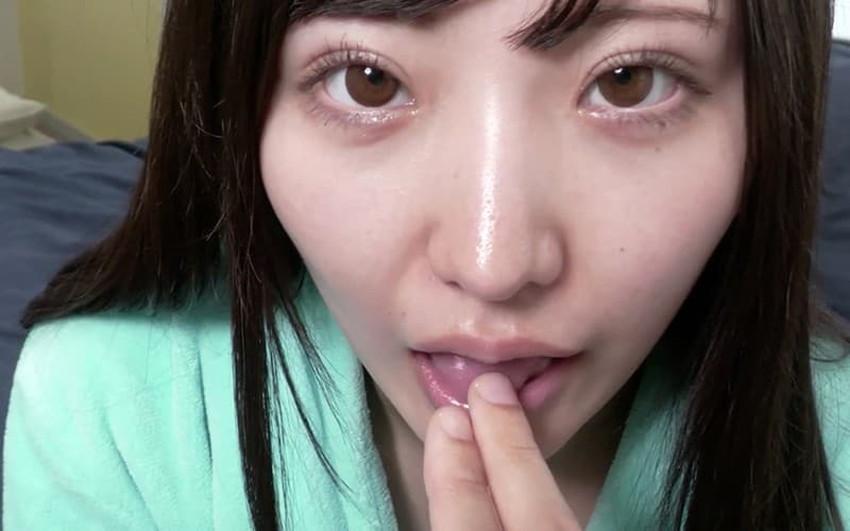 【指フェラエロ画像】フェラテク最高のS級お姉さんが指をちんぽに見立ててねっとり舐めまくる指フェラのエロ画像集!ww【80枚】 41