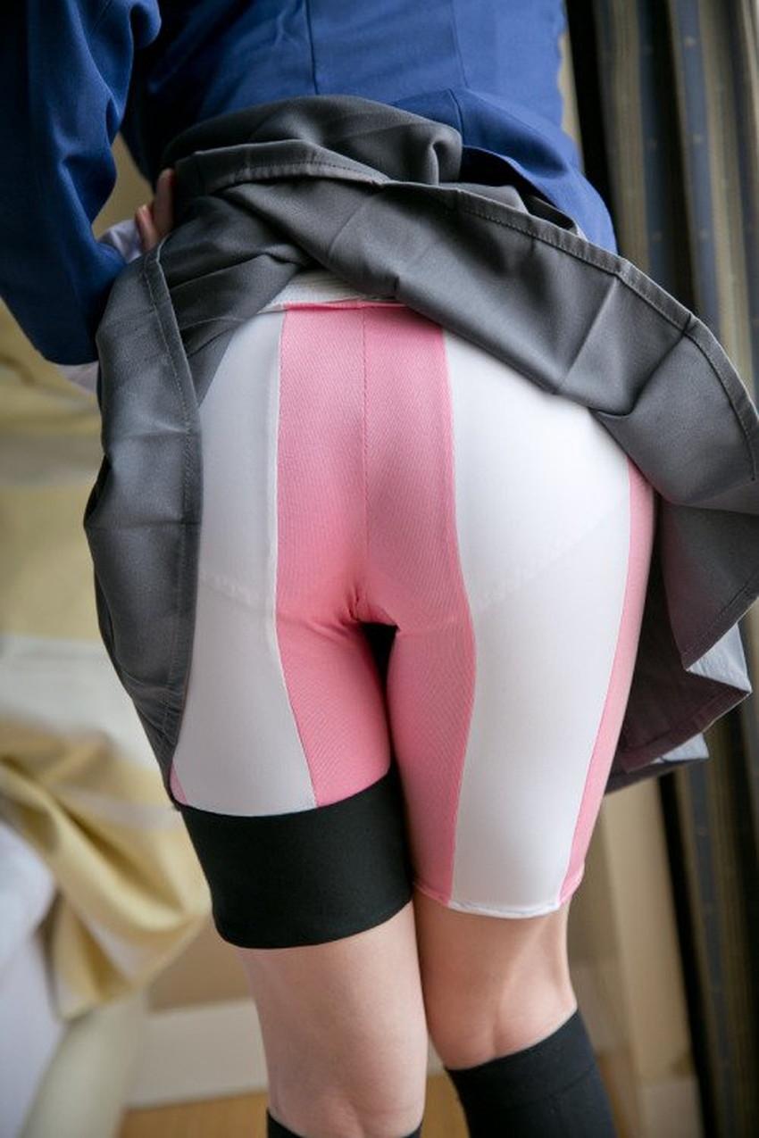 【レギンスエロ画像】美脚女子のパツパツレギンスをビリビリに破って股間に顔面を突っ込みたくなるレギンスのエロ画像集!ww【80枚】 43