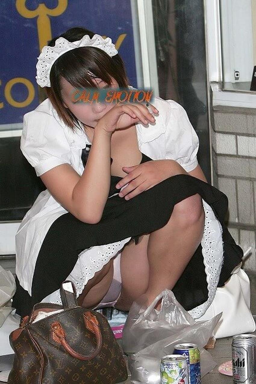 【パンツ丸見え素人エロ画像】透けパンや風パンチラ、しゃがみパンチラでパンティー丸見えになってる素人女子を盗撮したパンツ丸見え素人のエロ画像集!ww【80枚】 56