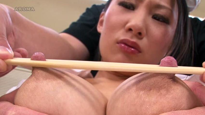 【引っ張り乳首エロ画像】乳首がエロ過ぎて弄りながら引っ張っておっぱいを尖らせてる引っ張り乳首のエロ画像集!w【80枚】 56