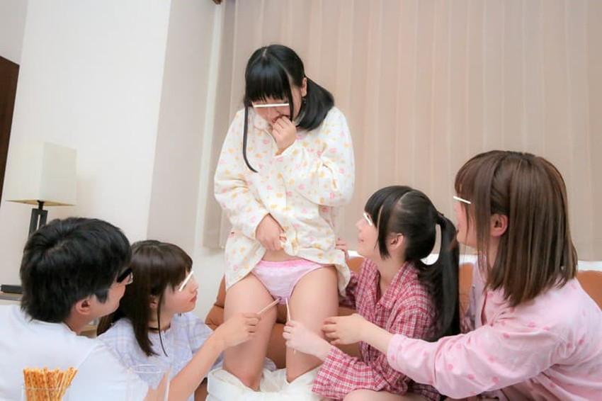 【エロ画像】ショーパンやもこもこの家着美少女と寝室でイチャラブHしてるパジャマセックスのエロ画像集!ww【80枚】 22