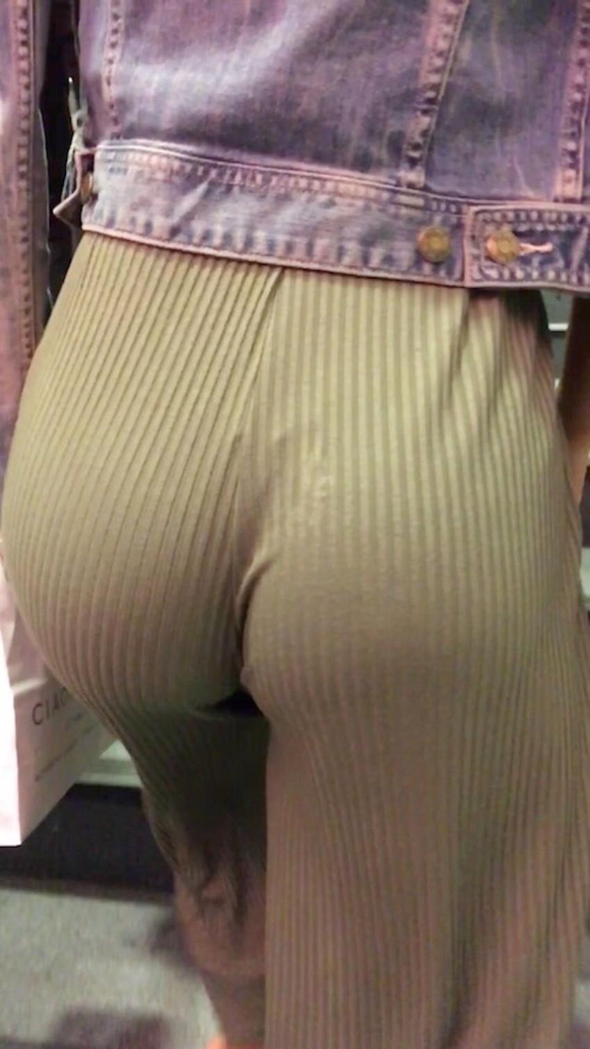 【ガウチョパンツエロ画像】街中で透けパンやパンティーラインが盗撮できちゃうガウチョパンツのエロ画像集ww!w【80枚】 46