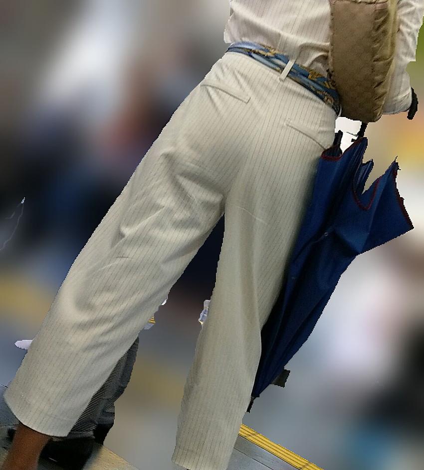 【ガウチョパンツエロ画像】街中で透けパンやパンティーラインが盗撮できちゃうガウチョパンツのエロ画像集ww!w【80枚】 77