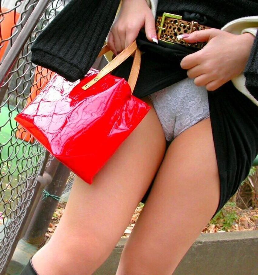 【ワレメ食い込みエロ画像】美女のまんすじがバッチリ食い込んでて股間の一本線が丸見えになってるワレメ食い込みのエロ画像集!ww【80枚】 60
