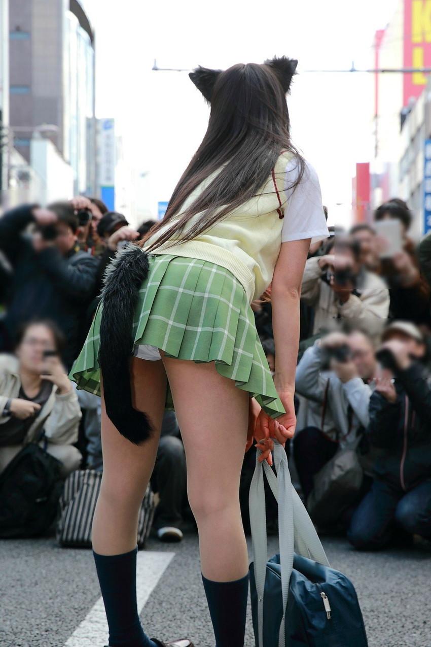 【着ぐるみエロ画像集】ロリフェイスな美少女達が着ぐるみでケモミミとおっぱいとおまんこをチラ見せさせてくれたら死んでもイイ!ww 72