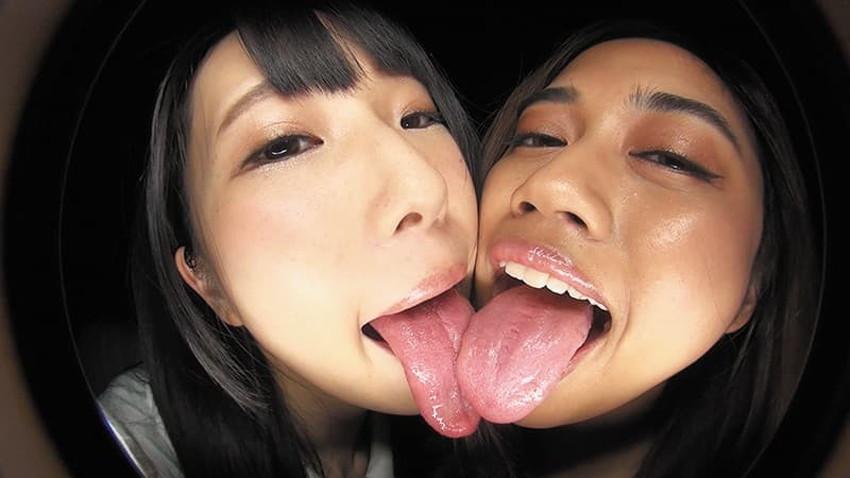 【ベロキスエロ画像】分厚くて唾液まみれのエロい舌を絡めてスケベなお姉さんたちが濃厚ディープキスを堪能しているベロキスのエロ画像集!ww【80枚】 16