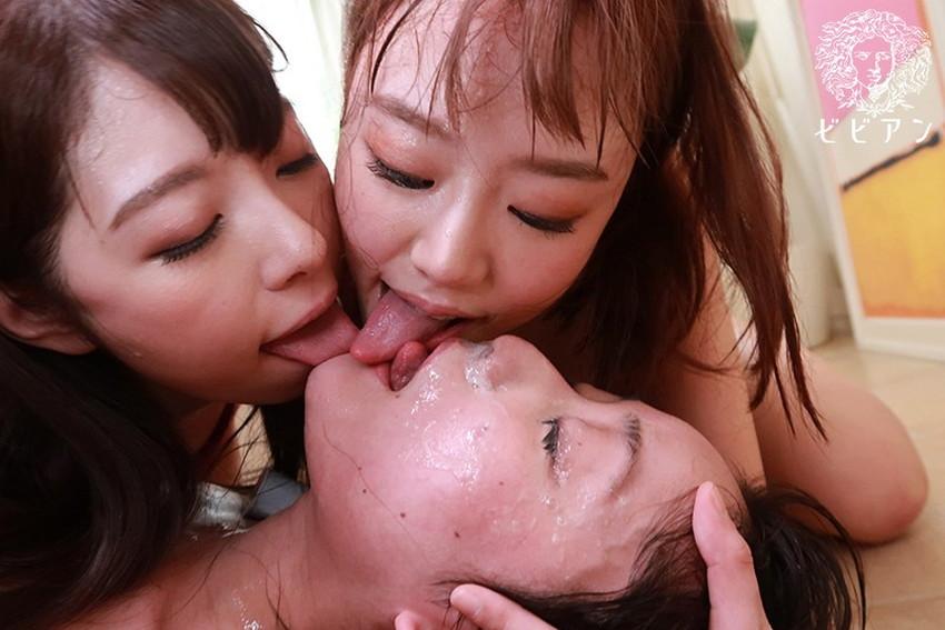 【ベロキスエロ画像】分厚くて唾液まみれのエロい舌を絡めてスケベなお姉さんたちが濃厚ディープキスを堪能しているベロキスのエロ画像集!ww【80枚】 32