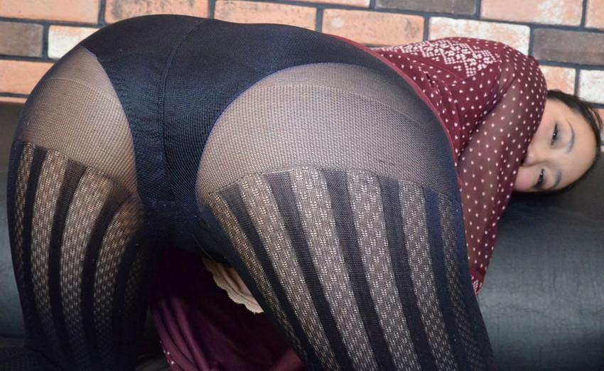 【パンスト尻エロ画像】ストッキング越しのパンティー尻やノーパン尻がエロ過ぎるパンスト尻のエロ画像集!w【80枚】 33