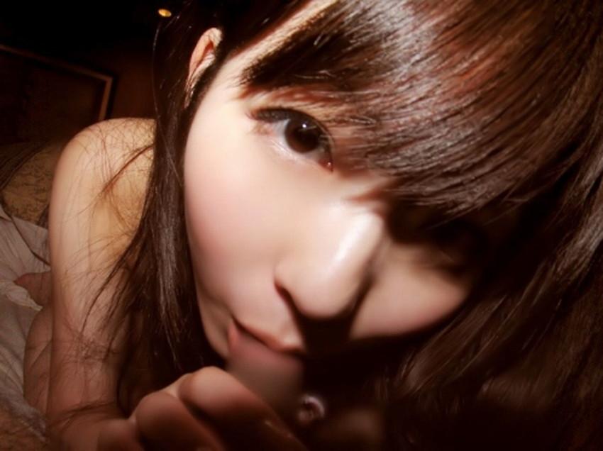 【フェラ顔エロ画像】フェラチオ中の美女のバキュームフェイスがエロ過ぎるwwひょっとこ顔でしゃぶってくれるフェラ顔のエロ画像集!w【80枚】 12