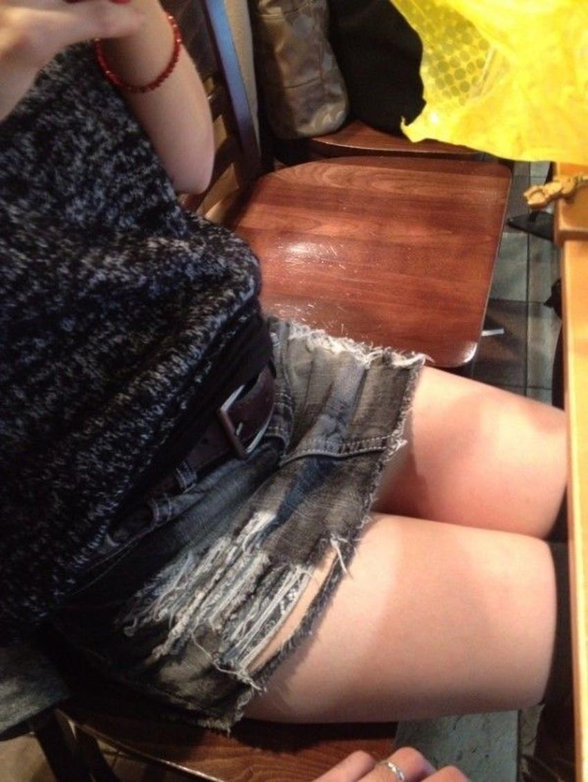 【ダメージジーンズエロ画像】ダメージすご過ぎて素人娘のパンティーが見えちゃってるダメージジーンズのエロ画像集!ww【80枚】 74