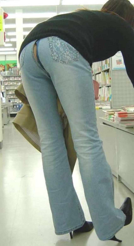【ダメージジーンズエロ画像】ダメージすご過ぎて素人娘のパンティーが見えちゃってるダメージジーンズのエロ画像集!ww【80枚】 80