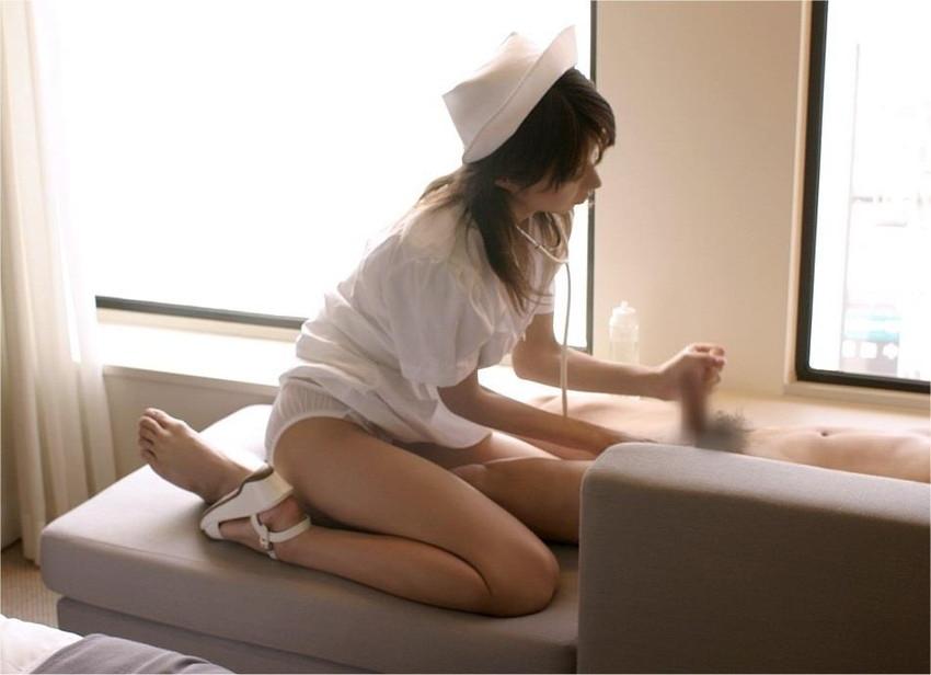 【ナースコスプレエロ画像】病院に行く度白衣の美人ナースにご奉仕フェラしてもらうところを妄想してしまうナースコスプレのエロ画像集!ww【80枚】 80