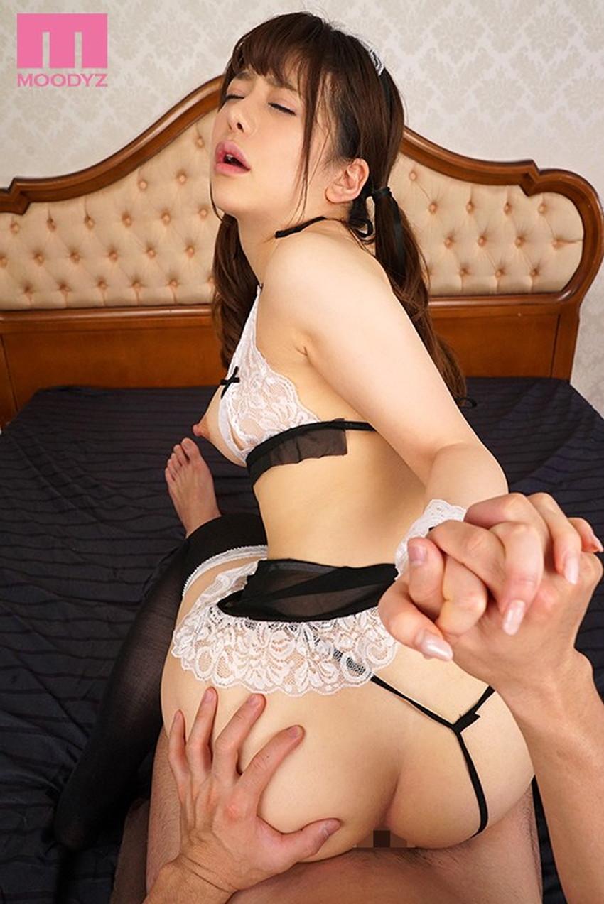 【メイド服セックスエロ画像】お帰りなさいませ御主人様!の直後におっぱい揉んでちんぽを挿入してるメイド服セックスのエロ画像集ww【80枚】 56