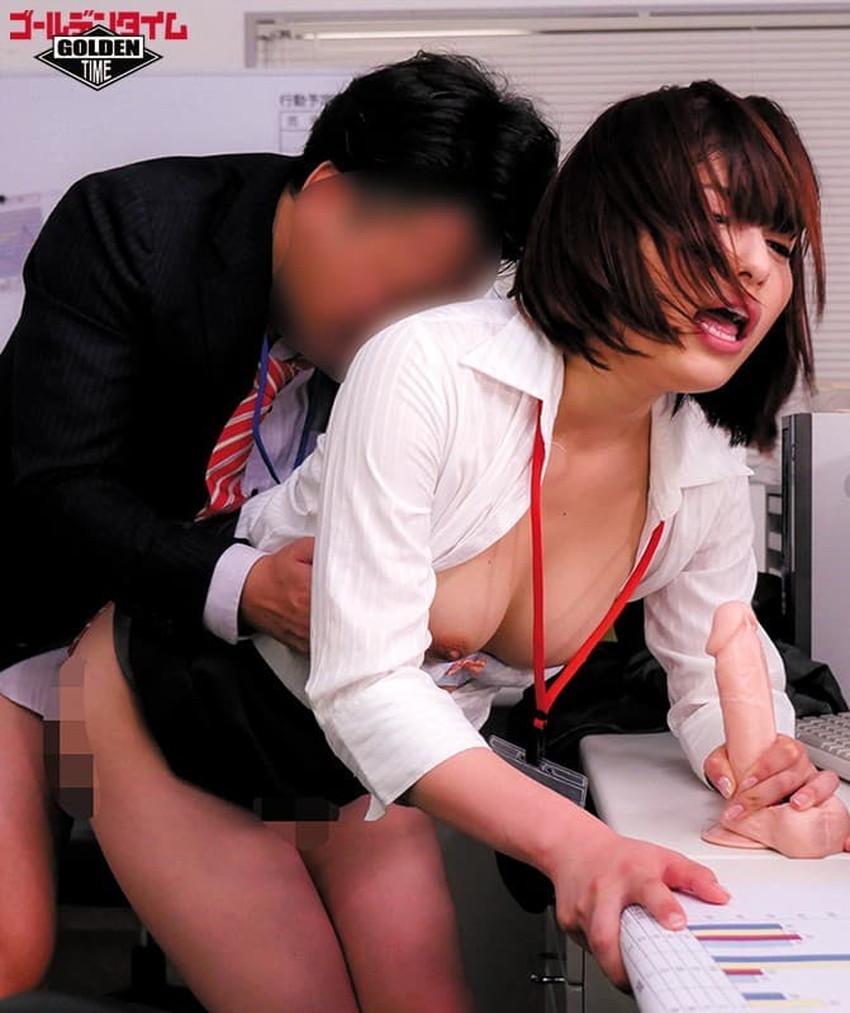【オフィスセックスエロ画像】痴女OLが部下にオフィスで調教逆レイプ!ビッチなOLが社内でパンスト破りされてるオフィスセックスのエロ画像集!ww【80枚】 34