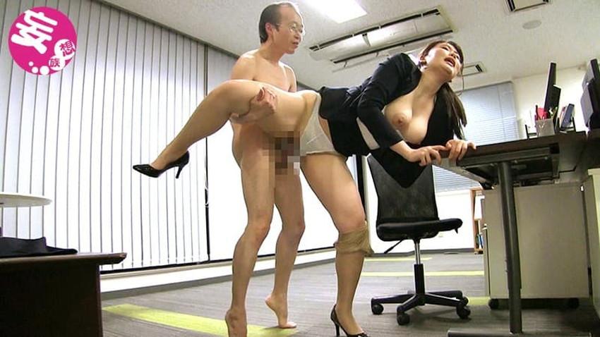 【オフィスセックスエロ画像】痴女OLが部下にオフィスで調教逆レイプ!ビッチなOLが社内でパンスト破りされてるオフィスセックスのエロ画像集!ww【80枚】 79