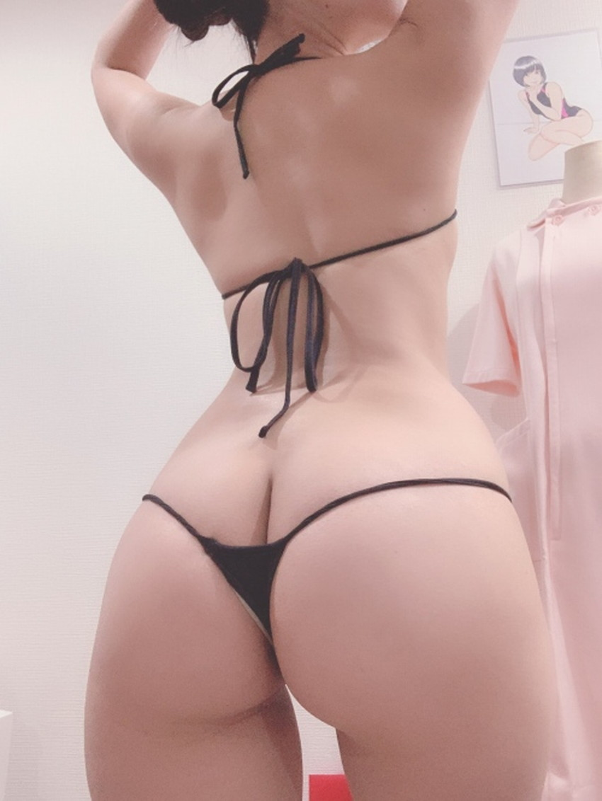 【Tバックショーツエロ画像】美女の美尻が際立つTバックショーツでプリケツを強調させてるTバックショーツのエロ画像集!ww【80枚】 66