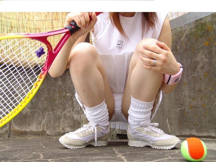 【テニスコスプレエロ画像】爽やか美少女の汗だくテニスウェアを脱がせて美乳弄りww特訓と称して美少女を寝取りまくるテニスコスプレのエロ画像集!ww【80枚】 06