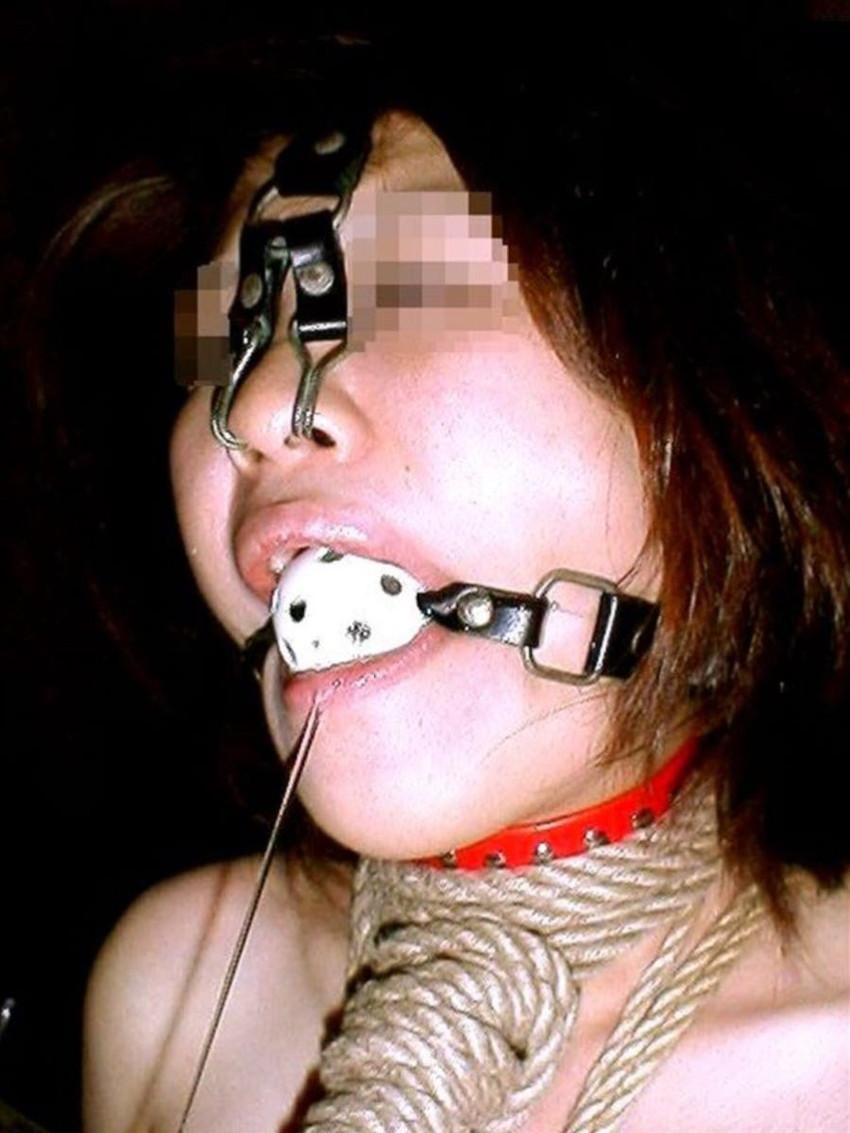【鼻フックエロ画像】超美形なS級お姉さんも鼻フックでドMなブスビッチに!ww鼻フックでアヘ顔のメス豚調教されちゃってる鼻フックエロ画像集ww 21