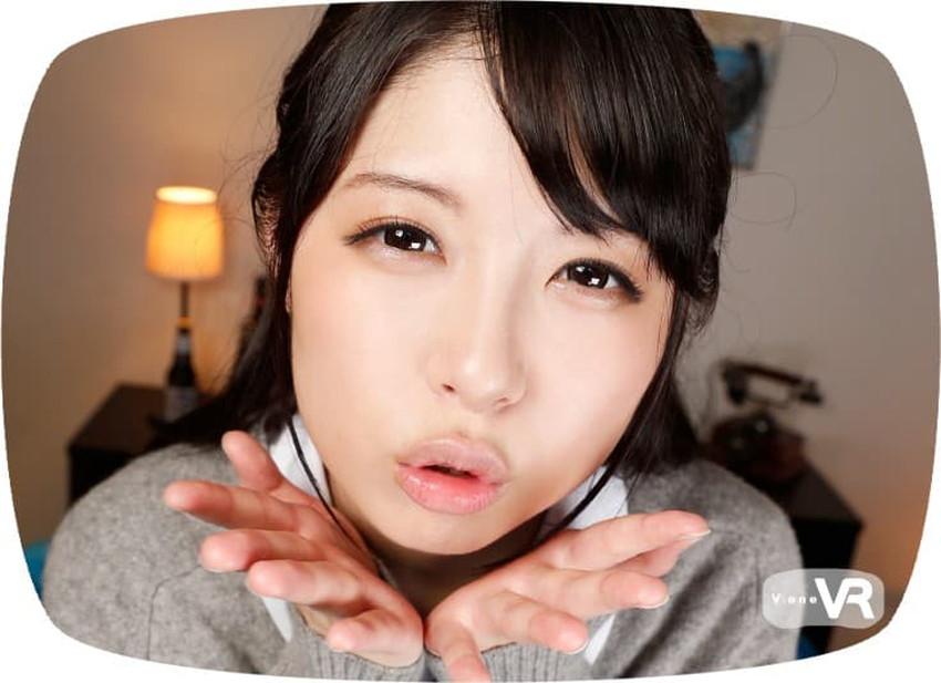 【キス顔エロ画像】超美少女やキレイなお姉さんとヴァーチャルベロチューが堪能できるキス顔のエロ画像集!ww【80枚】 06