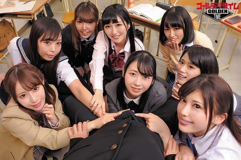 【教室エロ画像】授業そっちのけでHに興味津々なJKや痴女の女教師と乱交しまくった教室エロ画像集ww 20