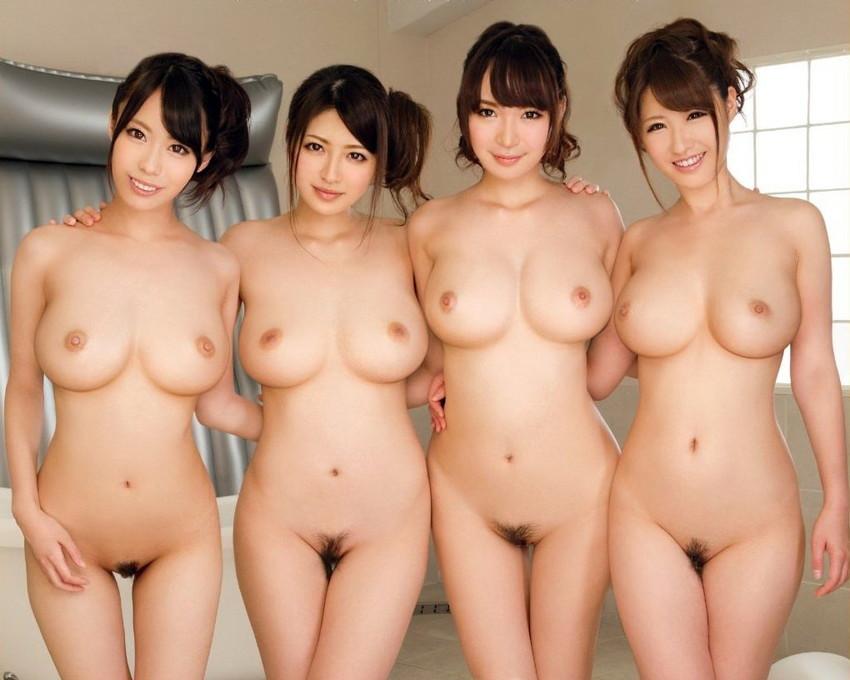 【集団ヌードエロ画像】ハーレムセックスしたくなる大量の美女達が全裸で誘惑してくれてる集団ヌードのエロ画像集!ww【80枚】 08