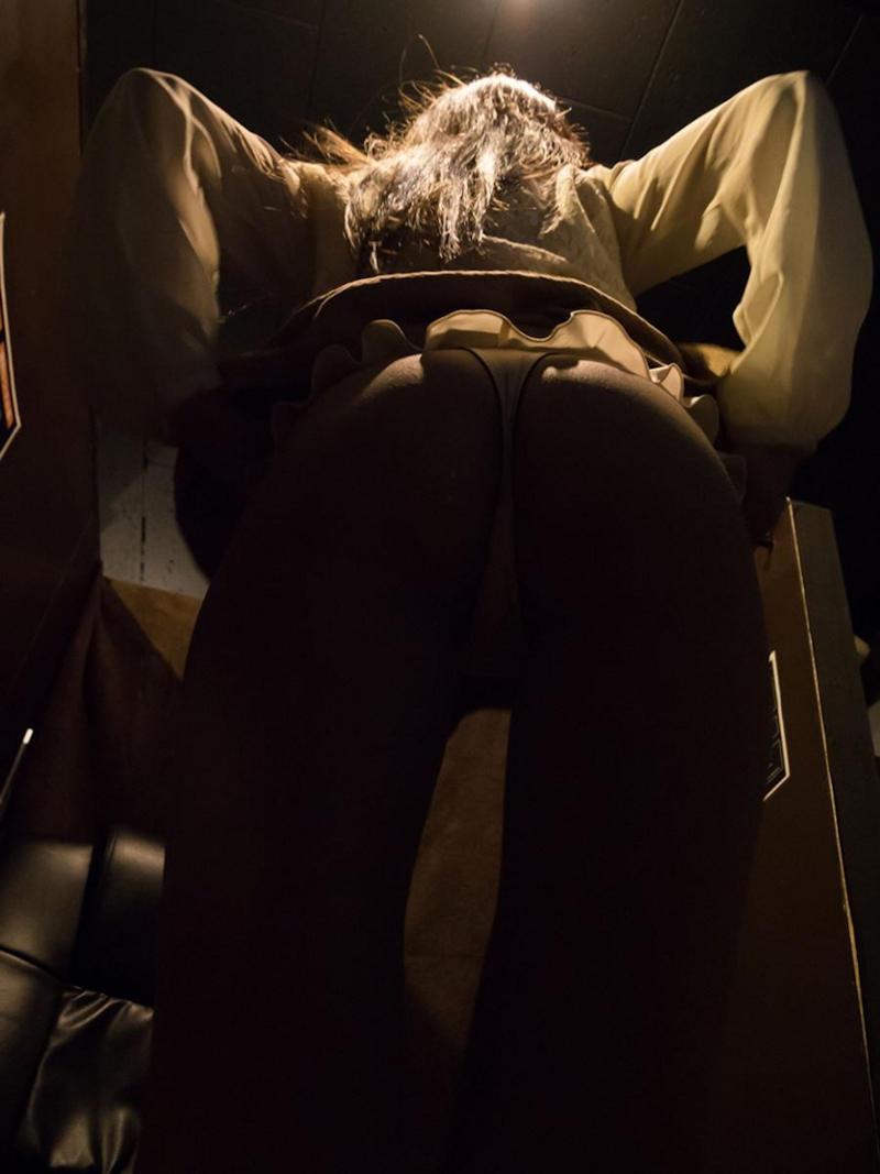 【マンガ喫茶エロ画像】狭いブースで隣に人がいるのにスリル満点のフェラや対面座位挿入でHしちゃってるマンガ喫茶のエロ画像集ww【80枚】 58