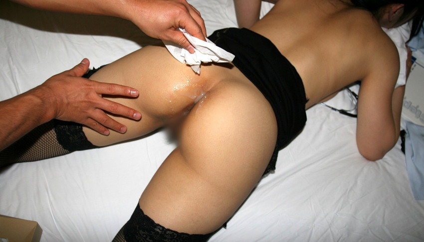 【ケツ射エロ画像】セックス中バックでピストンしてデカ尻に大量射精!wアナル丸見えのギャルのケツにぶっかけフィニッシュしたったケツ射のエロ画像集!ww【80枚】 61