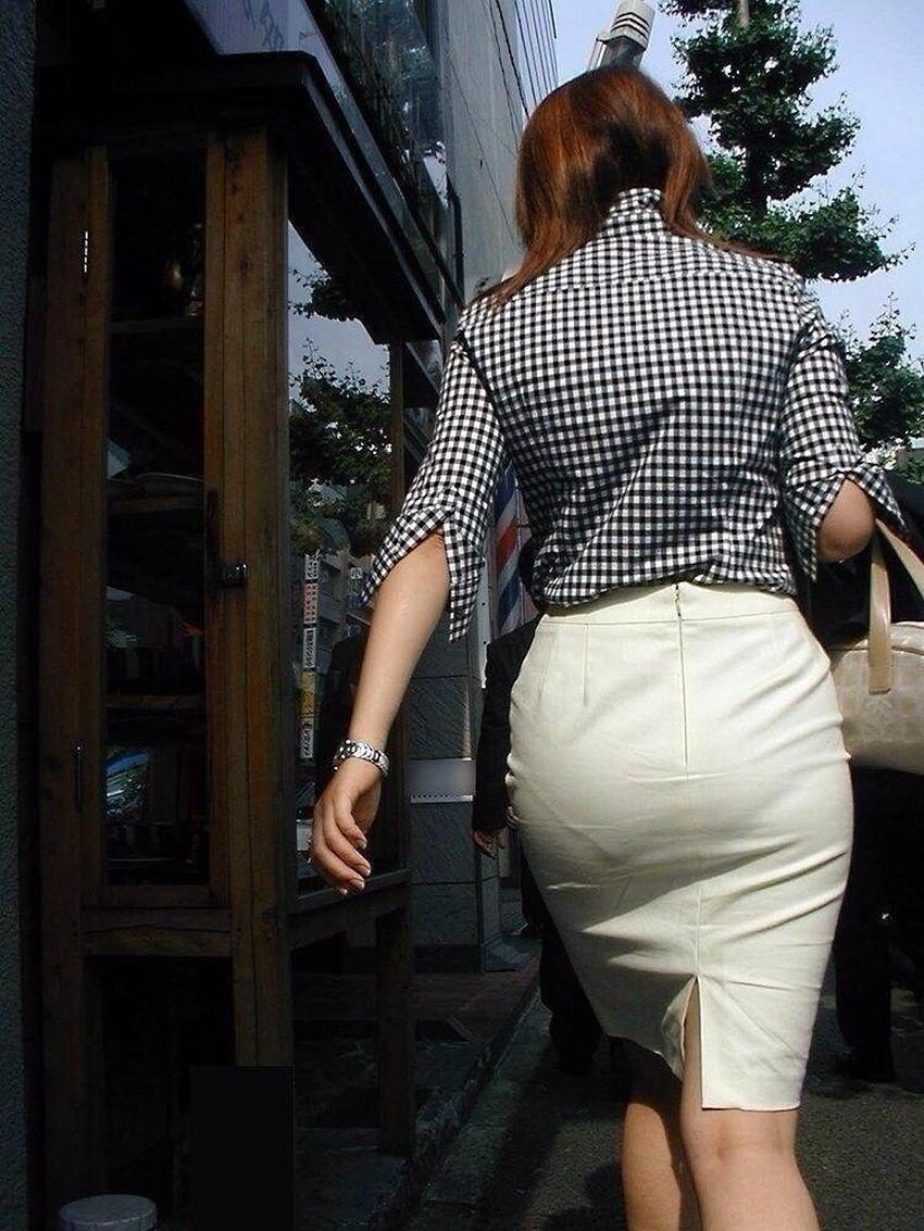 【パン透けスカートエロ画像】パンティーラインが透けちゃうタイトミニやマキシワンピで無防備に歩く美女達のパン透けスカートのエロ画像集!ww【80枚】 78