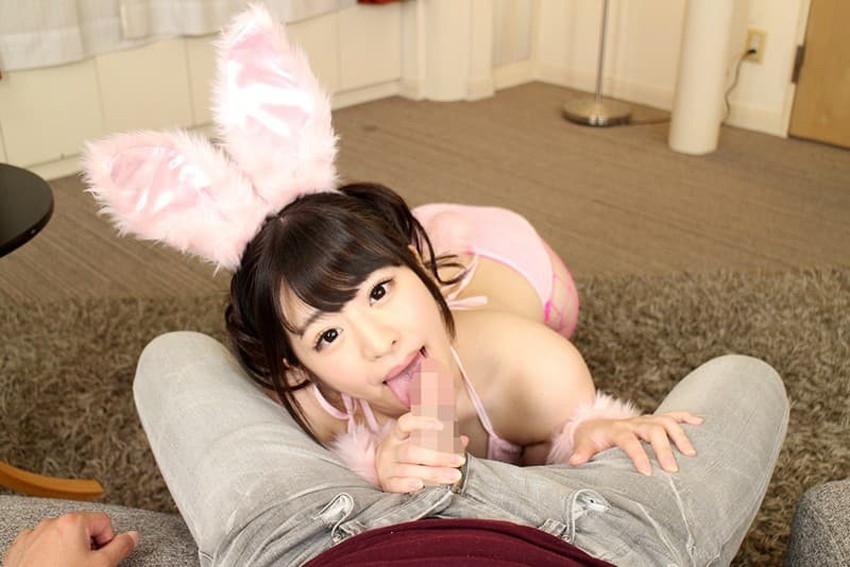 【ケモミミコスプレエロ画像】ウサ耳やネコ耳を装着した萌え萌え美少女たちがフェラやセックスしてくれるケモミミコスプレのエロ画像集!ww【80枚】 45
