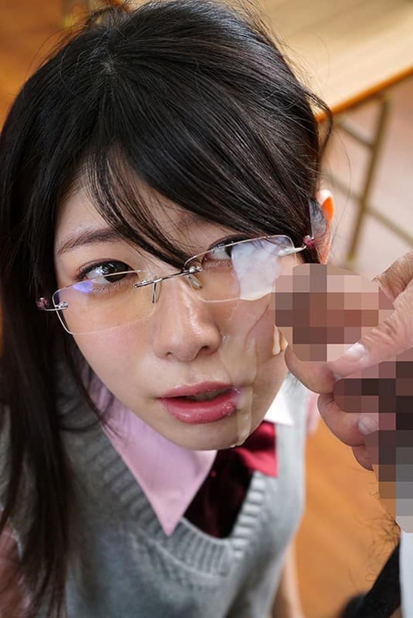 【メガネJKエロ画像】優等生のメガネっ娘を勉強の合間に調教して経験の少ないロリまんこにちんぽをブチ込んじゃってるメガネJKのエロ画像集!ww【80枚】 56