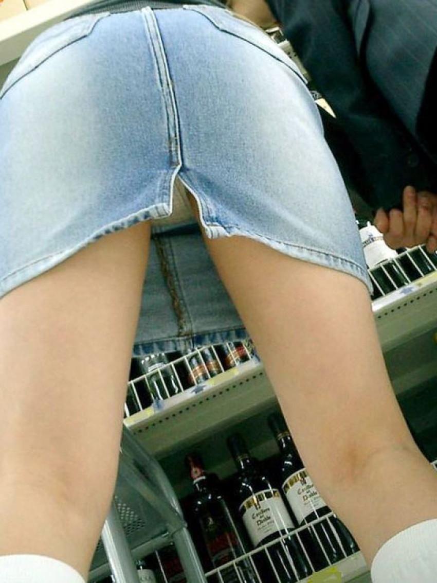 【スリットパンチラエロ画像】タイトスカートの美脚お姉さんのスリットから見えるパンチラが堪らないスリットパンチラのエロ画像集!w【80枚】 48