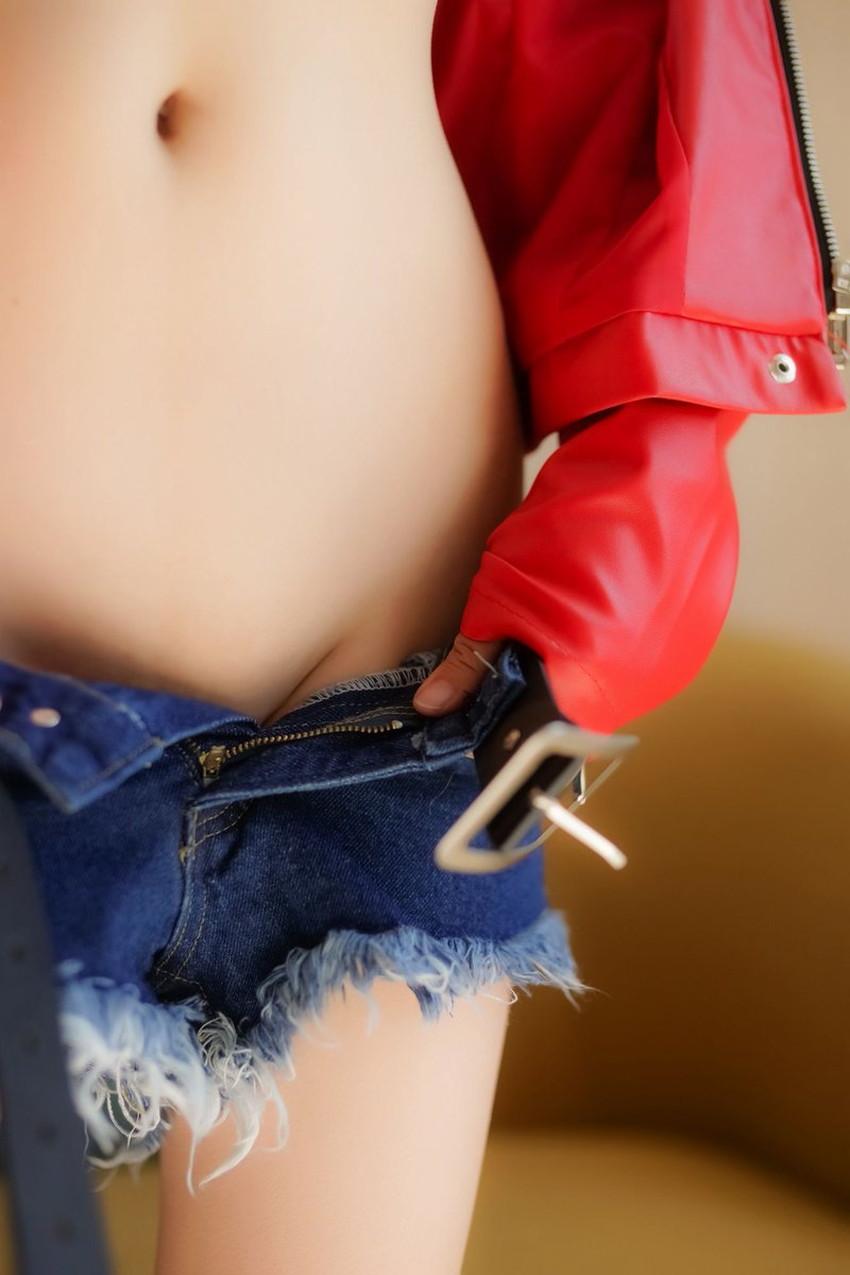 【鼠径部エロ画像】ロー活女子のモリマン具合がはっきりわかる鼠径部のエロ画像集!ww【80枚】 67