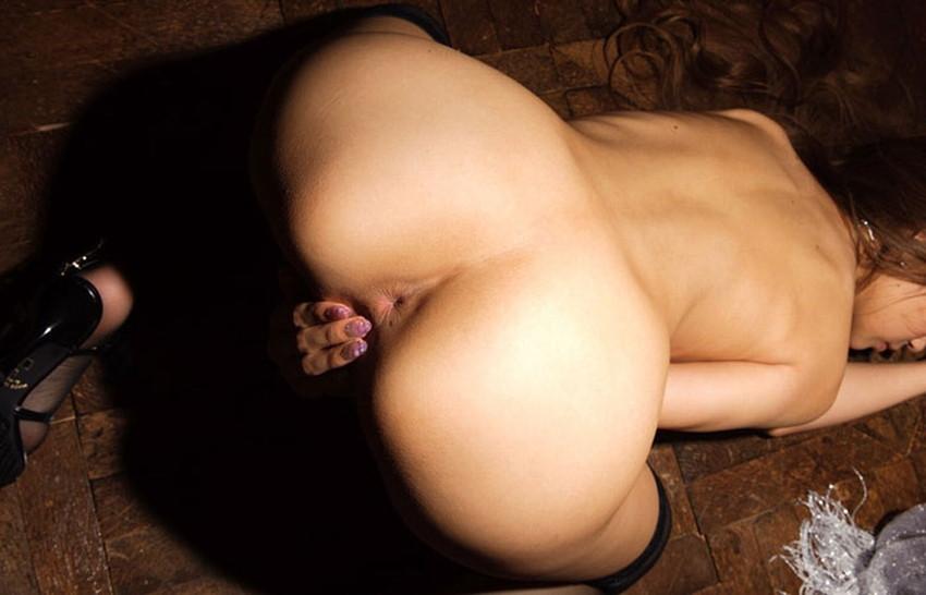 【美アナルエロ画像】まさに菊紋!と叫びたくなるキレイな肛門を見せつけてくれてる変態女子たちの美アナルのエロ画像集w【80枚】 42