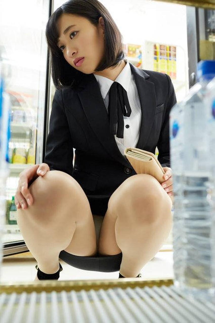 【自発的パンチラエロ画像】女子自らスカートを捲ってパンティーを見せてくれる自発的パンチラのエロ画像集!ww【80枚】 58