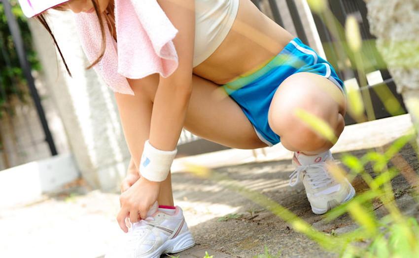 【スポーツウェアエロ画像】汗まみれのスポーツブラやスパッツ、アンスコがエロ過ぎて着衣セックスしてるスポーツウェアのエロ画像集!ww【80枚】 75