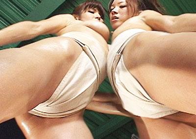 【女相撲エロ画像】美女やデカ尻人妻たちがふんどしを食い込ませてガチバトルする女相撲のエロ画像集!ww【80枚】