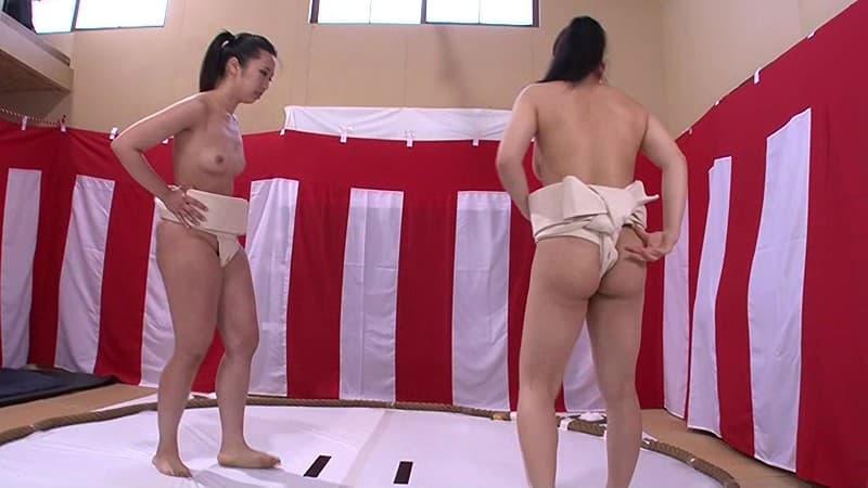 【女相撲エロ画像】美女やデカ尻人妻たちがふんどしを食い込ませてガチバトルする女相撲のエロ画像集!ww【80枚】 07