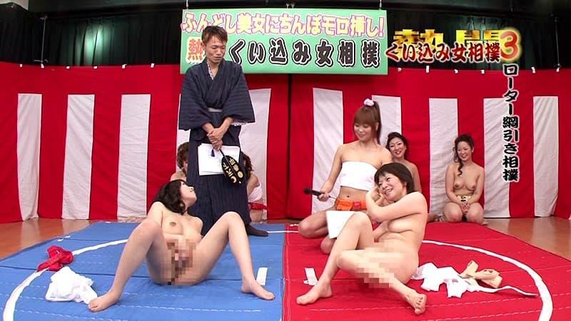 【女相撲エロ画像】美女やデカ尻人妻たちがふんどしを食い込ませてガチバトルする女相撲のエロ画像集!ww【80枚】 35