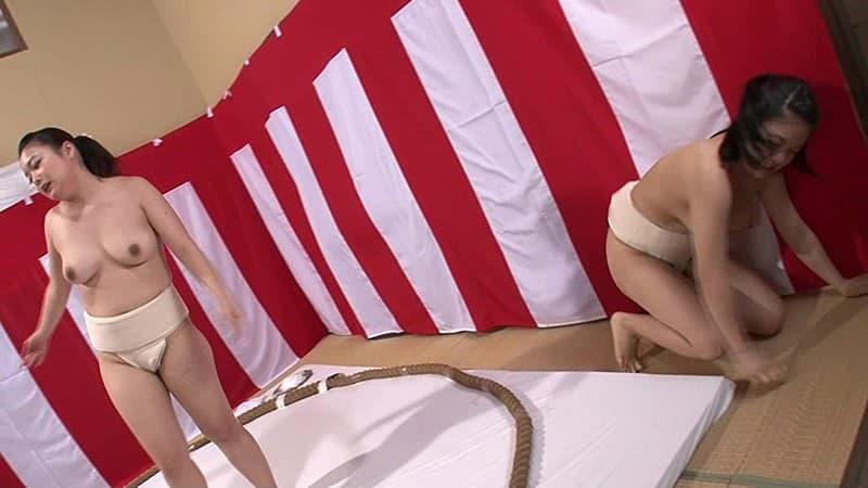 【女相撲エロ画像】美女やデカ尻人妻たちがふんどしを食い込ませてガチバトルする女相撲のエロ画像集!ww【80枚】 51