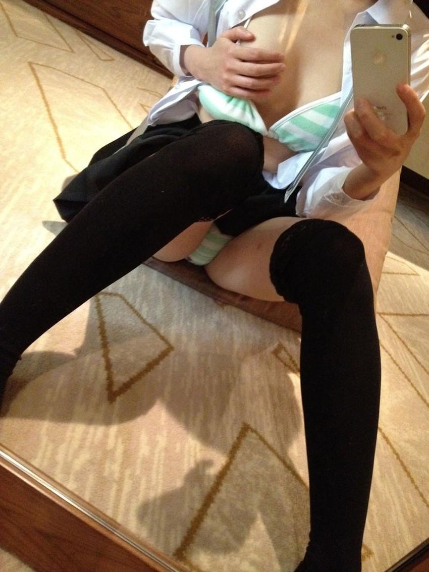 【ボーターパンツエロ画像】コスプレ美少女の縞パンや真面目系女子のボーター下着がセクシーランジェリーよりエロく感じるボーターパンツのエロ画像集!ww【80枚】 80