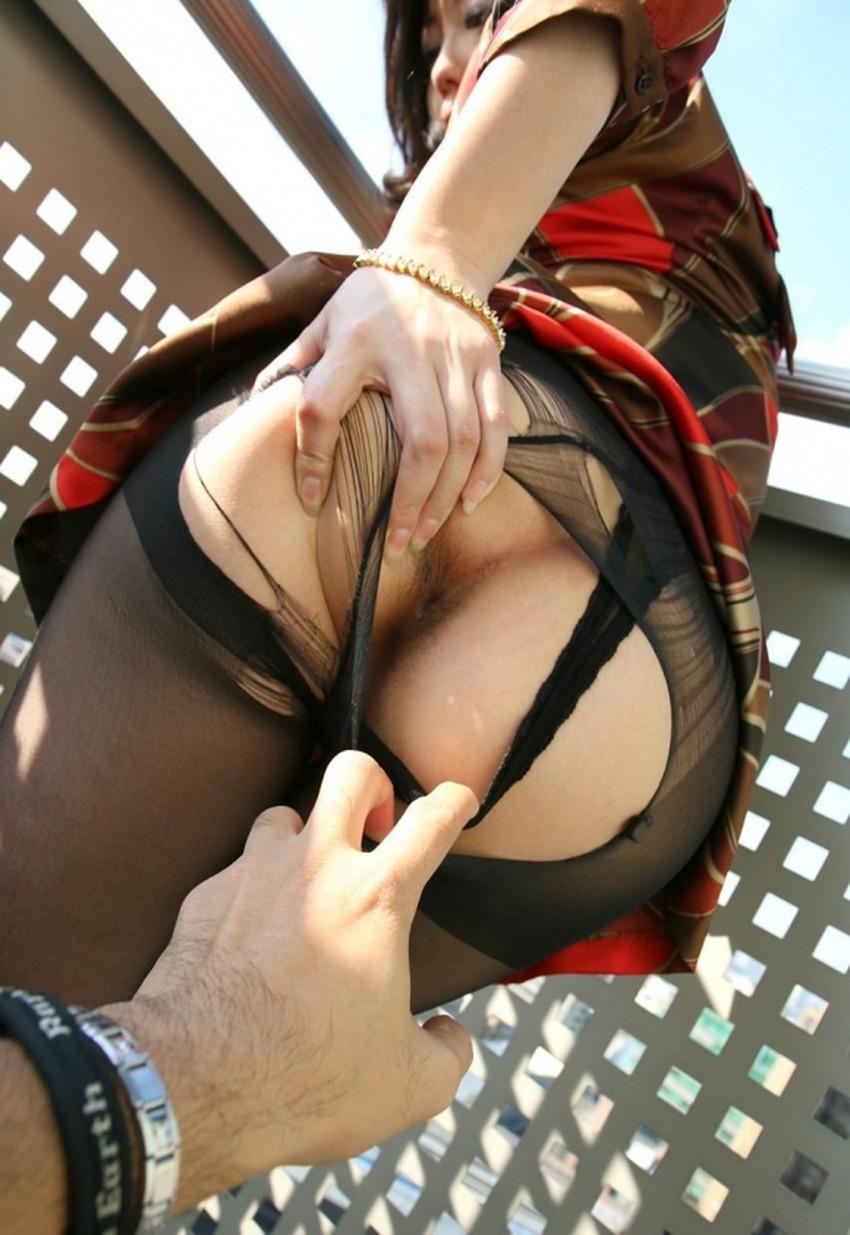 【パンツ脱がしエロ画像】セックス中のこの瞬間が堪らないパンツ脱がしのエロ画像集!ww【80枚】 66