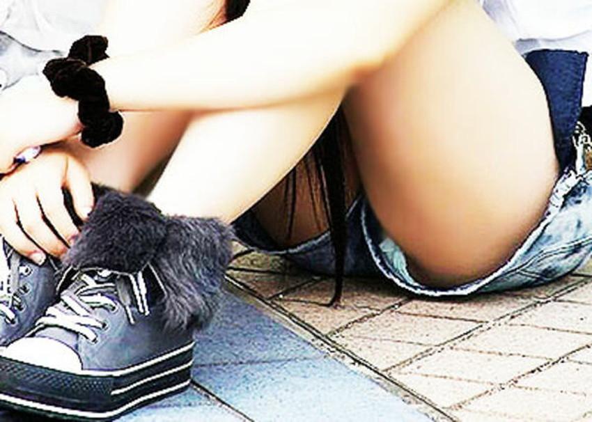 【ホットパンツエロ画像】ホットパンツのハミ尻にかぶりつきたい!美脚と尻肉が映えるホットパンツのエロ画像集!ww【80枚】 22