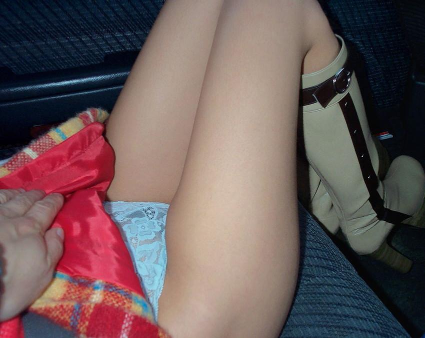 【ドライブデートエロ画像】ドライブデートで彼女やセフレと車内フェラやカーセックスしちゃったドライブデートのエロ画像集!ww【80枚】 12