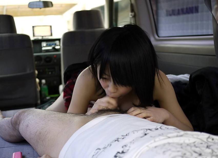 【ドライブデートエロ画像】ドライブデートで彼女やセフレと車内フェラやカーセックスしちゃったドライブデートのエロ画像集!ww【80枚】 33