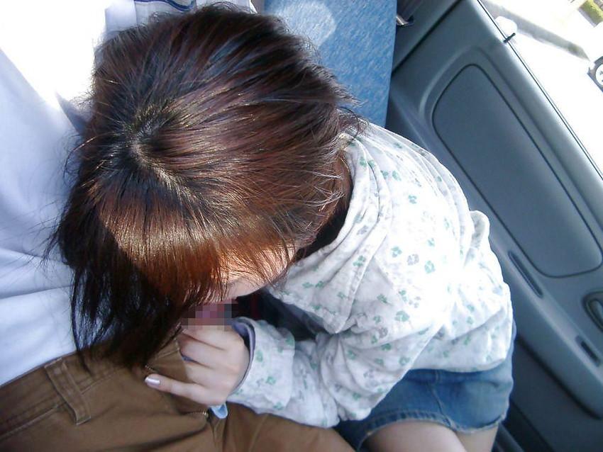 【ドライブデートエロ画像】ドライブデートで彼女やセフレと車内フェラやカーセックスしちゃったドライブデートのエロ画像集!ww【80枚】 51
