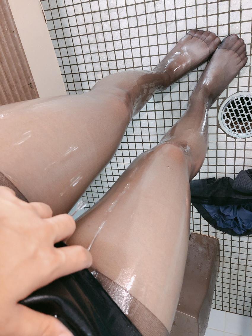 【薄いパンストエロ画像】パンティーと美脚が透け透けになってる薄いパンストのエロ画像集!ww【80枚】 71