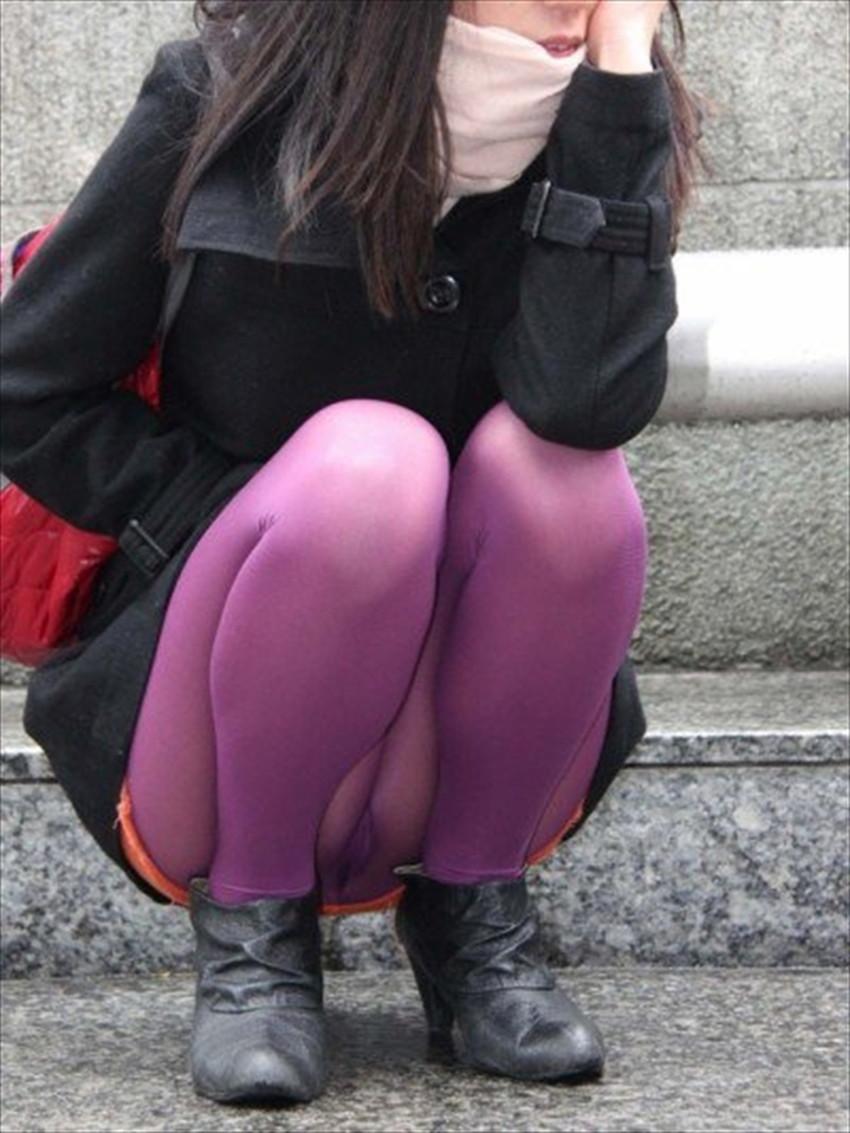 【カラーストッキングエロ画像】カラフルなタイツで美脚や透けパンティーが際立つカラーストッキングのエロ画像集!ww【80枚】 38