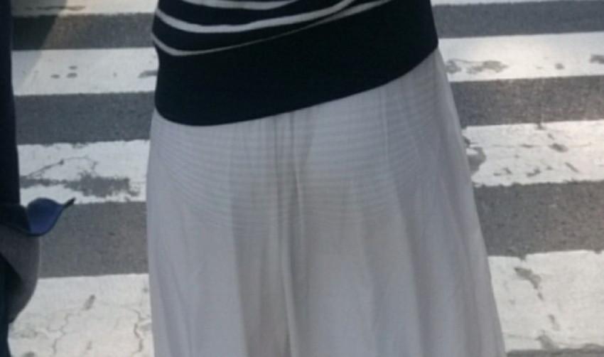 【透けパンツエロ画像】清楚なお嬢さんのスカートやズボンからパンティーが透けて丸見えよりも卑猥に見える透けパンツのエロ画像集!ww【80枚】 11